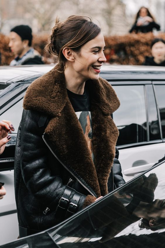 leather shearling2