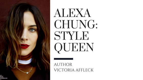 3680635f2c95 Style File: Alexa Chung – Victoria Affleck